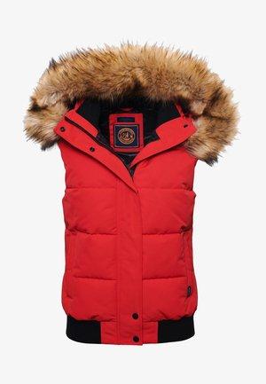 Waistcoat - high risk red