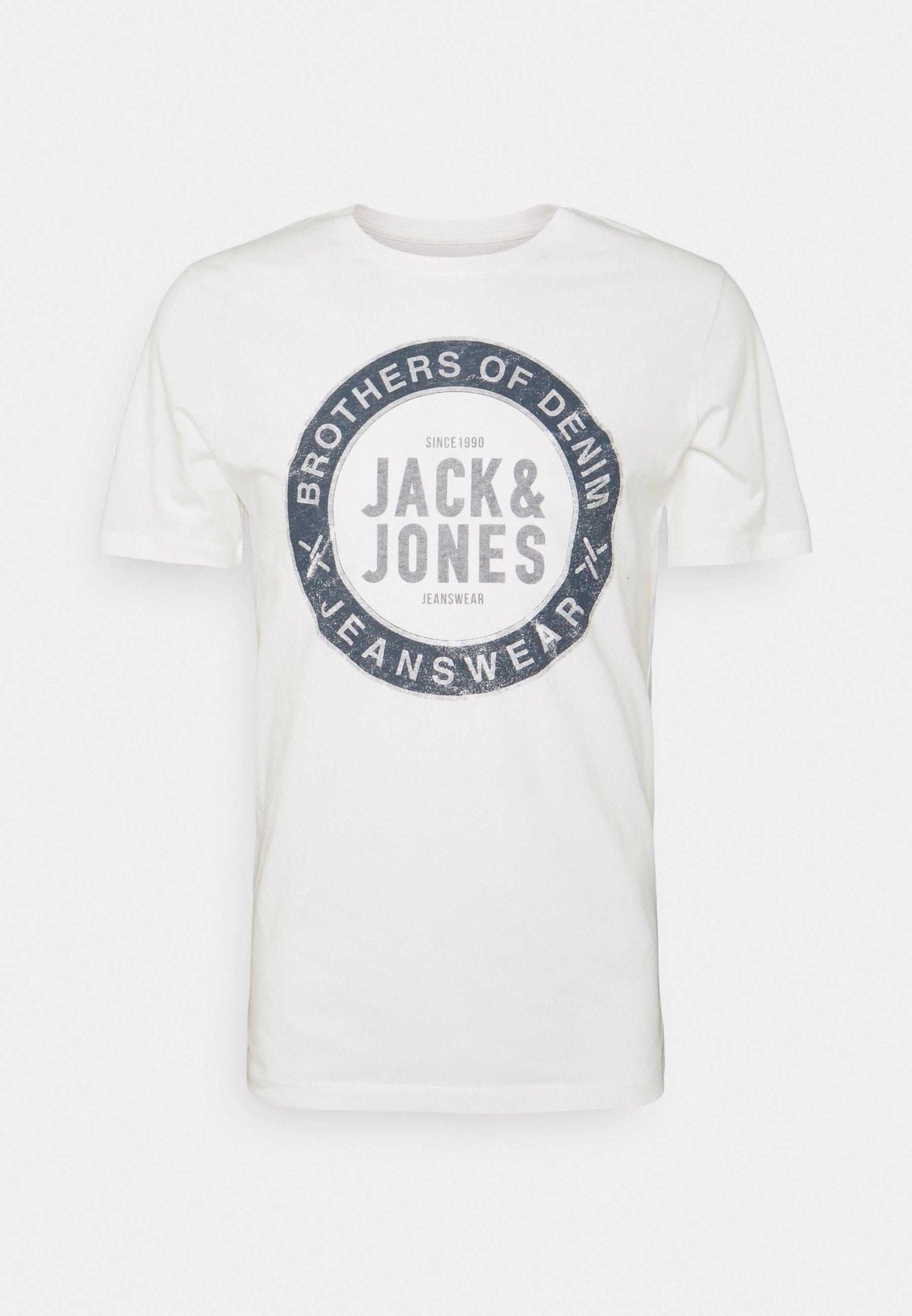 Men JJEJEANS TEE O NECK - Print T-shirt