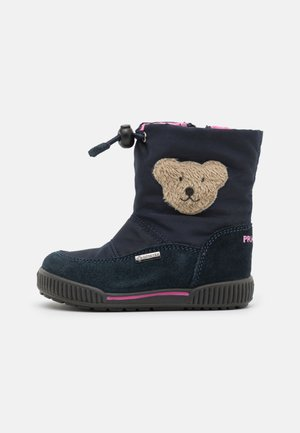 Winter boots - navy/blue scuro