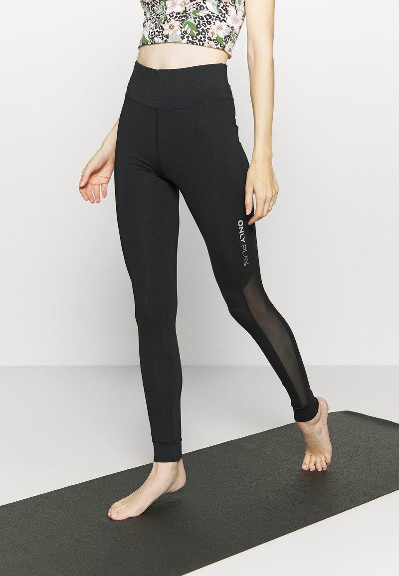 ONLY Play - ONPOPAL POWER TRAINING - Leggings - black