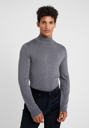 WATSON - Stickad tröja - grey melange