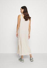 Weekday - ABBY DRESS - Maxi dress - light beige - 2