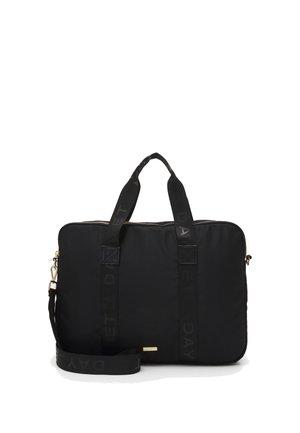 LOGO BAND COMPUTER - Laptop bag - black