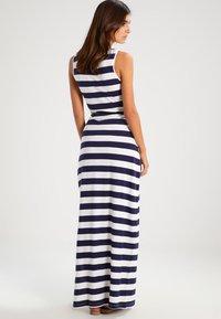Zalando Essentials - Maxi dress - navy/off-white - 3