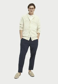 Scotch & Soda - JACQUARD  - Cardigan - sand melange - 1