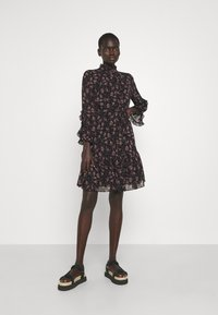 Bruuns Bazaar - ALCEA MARY DRESS - Shirt dress - black - 1