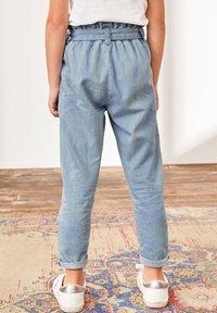 Next - PAPERBAG  - Straight leg jeans - light-blue denim - 1