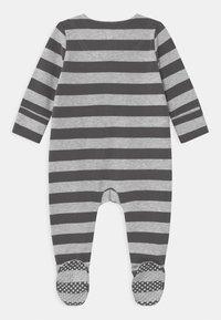 Cotton On - LONG SLEEVE ZIP - Dupačky na spaní - cloud marle/graphite grey - 1