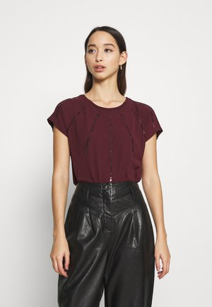 ONLLOUISA SEQUINS - Blouse - port royale