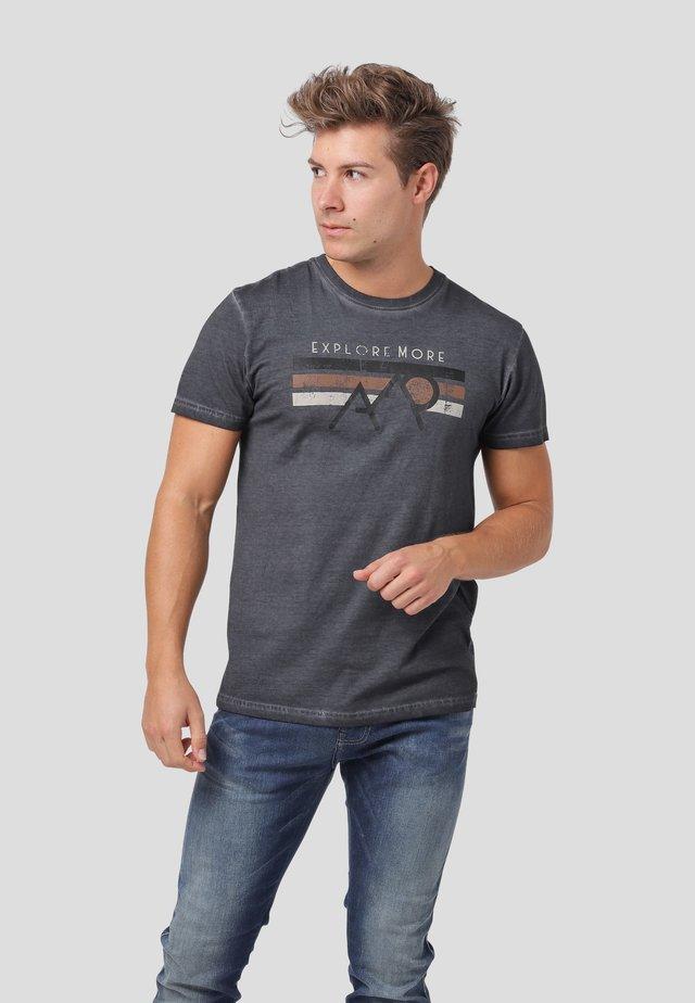 ZENON  - T-shirt print - insignia blue