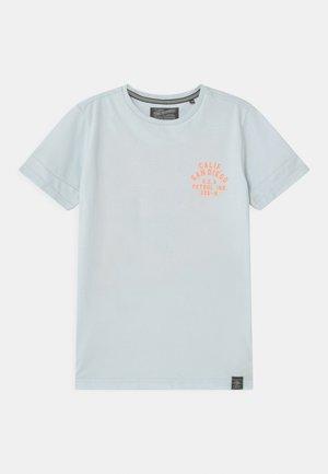 T-shirt print - bleached aqua