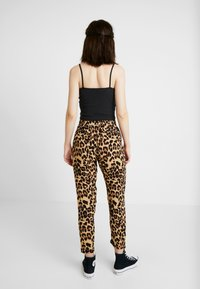 Urban Classics - LADIES ELASTIC WAIST PANTS 2 PACK - Trousers - black - 2