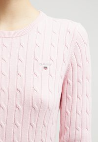 GANT - CABLE CREW - Jumper - nantucket pink - 4