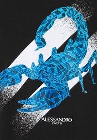 Alessandro Zavetti - SCORPION TEE - Print T-shirt - black - 2