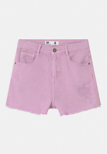 SUNNY - Denim shorts - pale violet