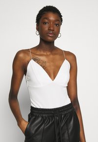 Nly by Nelly - THIN STRAP  - Topper - white - 0