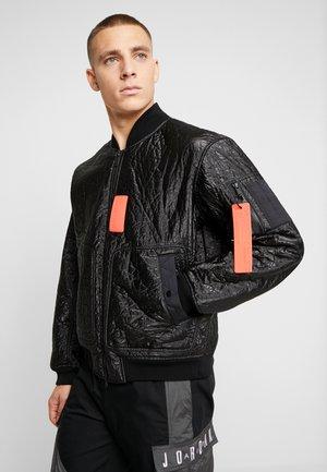 Bomber Jacket - black/infrared