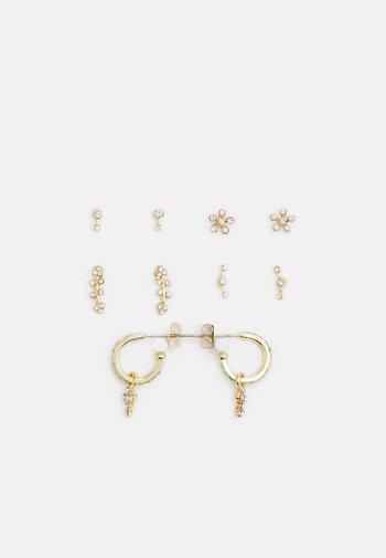 PCSABBIE EARRINGS 5 PACK - Pendientes - gold-coloured