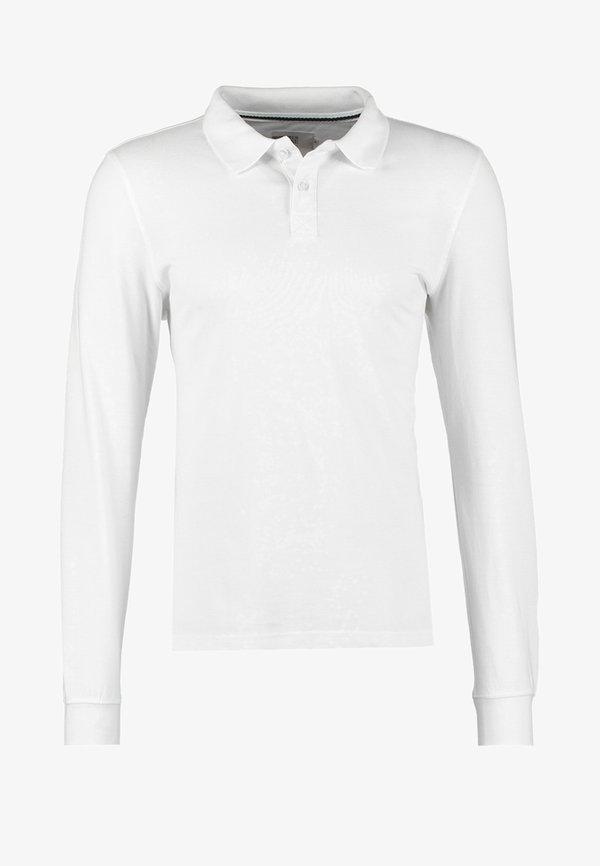 Pier One Koszulka polo - white/biały Odzież Męska SCNK