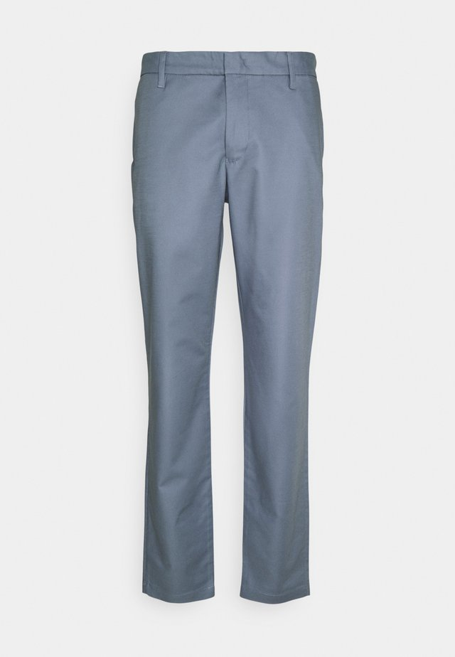 TROUSER - Chino kalhoty - blue