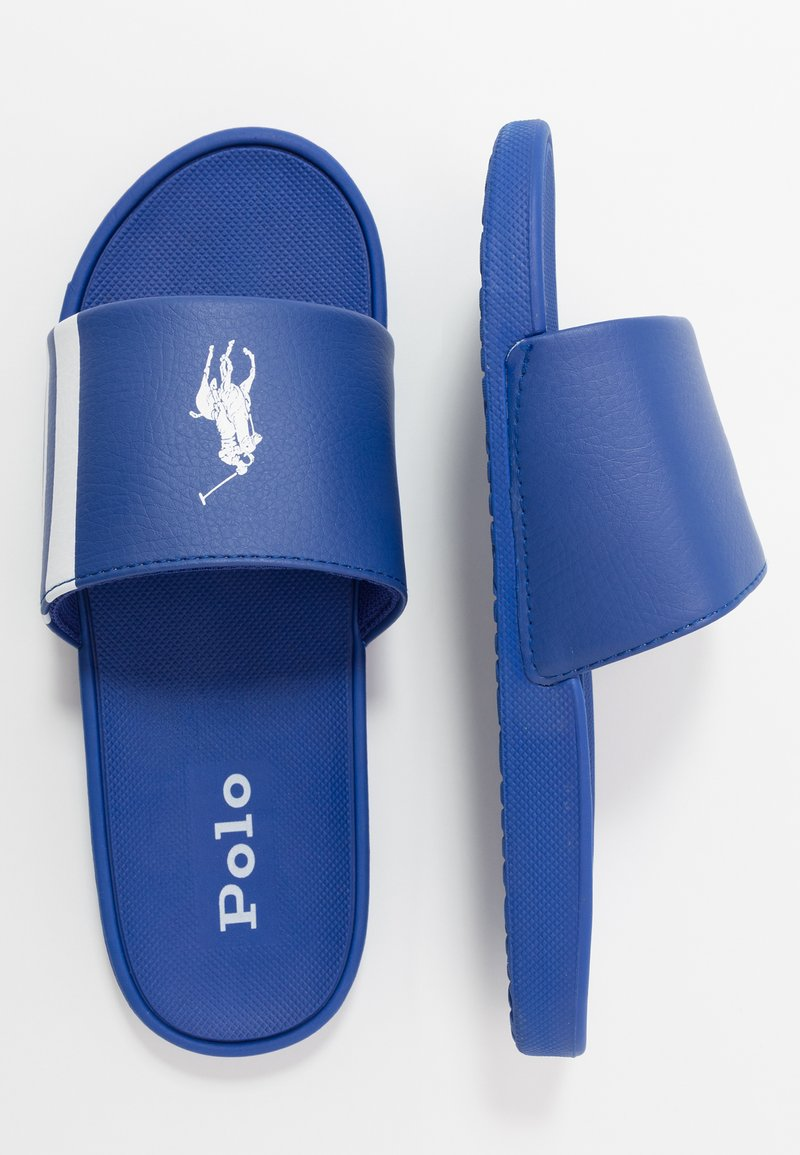 Polo Ralph Lauren - BENSLEY II - Pantofle - royal/white