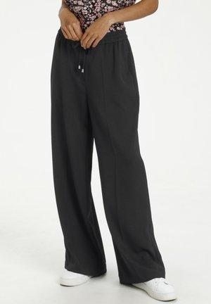 KALARA - Trousers - black deep