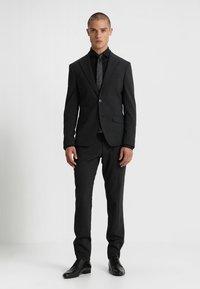 Eterna - SLIM FIT HAI - Formal shirt - black - 1