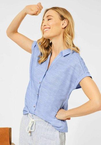CHAMBRAY  - Button-down blouse - blau