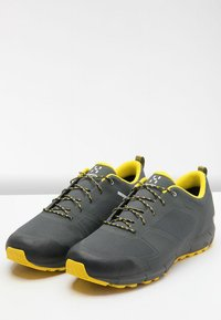 Haglöfs - L.I.M LOW PROOF ECO - Hiking shoes - magnetite/signal yellow - 3