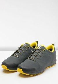 Haglöfs - L.I.M LOW PROOF ECO - Hiking shoes - magnetite/signal yellow - 3