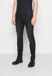INDICODE JEANS - PITTSBURG - Jeansy Slim Fit - ultra black - 0