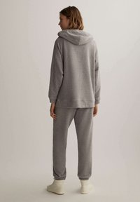 OYSHO - Zip-up hoodie - light grey - 2