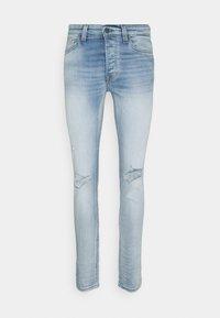 ONSLOOM LIFE SLIM DESTROY - Slim fit jeans - blue denim