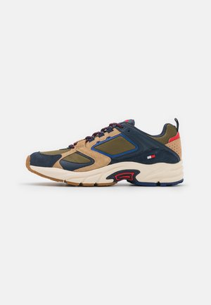 ARCHIVE MIX RUNNER - Sneakers basse - uniform/olive