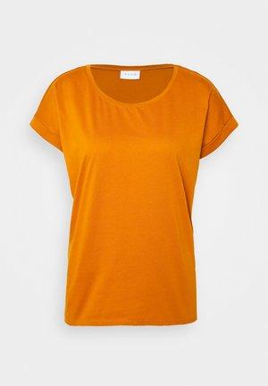 VIDREAMERS PURE  - Basic T-shirt - pumpkin spice