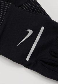 Nike Performance - SPHERE RUNNING GLOVES 2.0 - Fingervantar - black/silver - 6