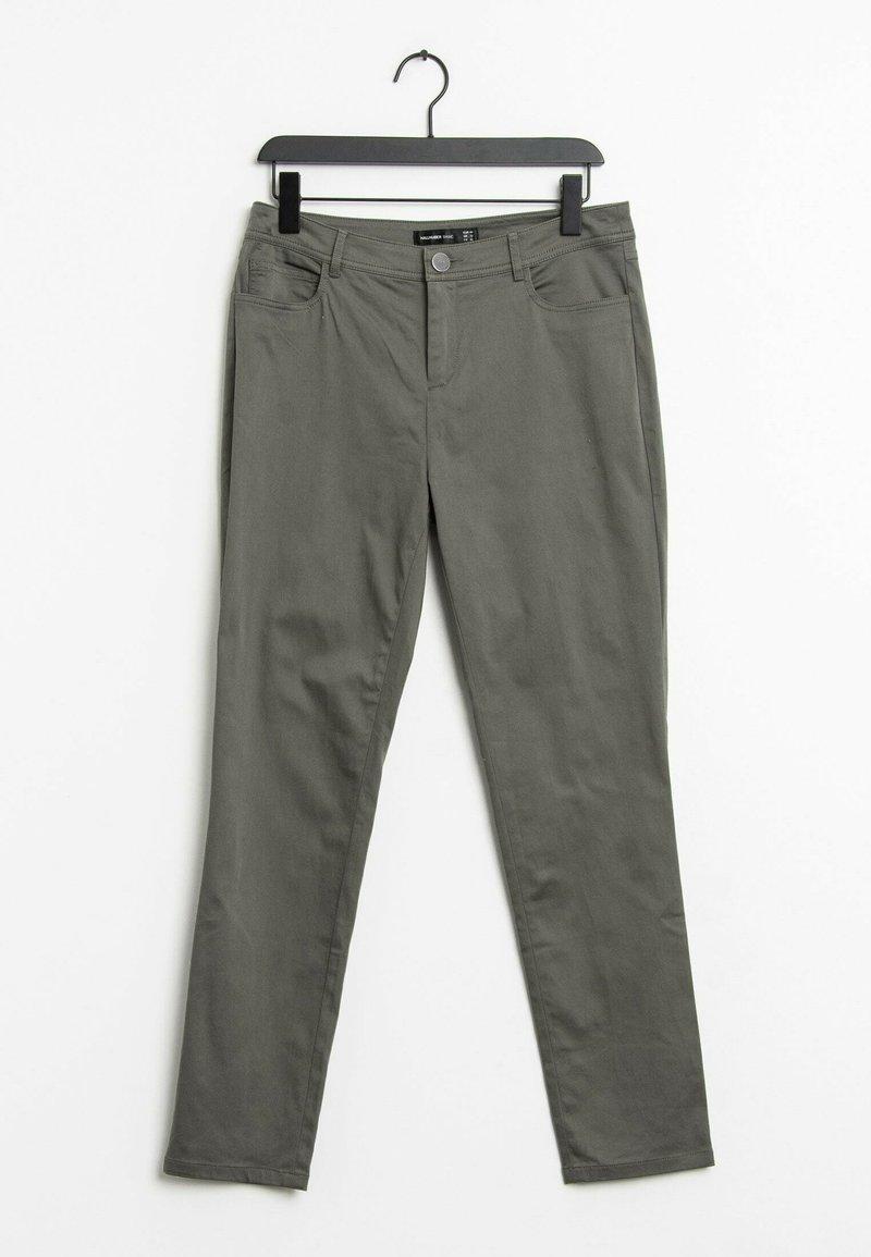 HALLHUBER - Straight leg jeans - green