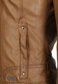 Mustang - BLANCA - Leren jas - cognac - 2