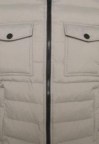 Antony Morato - SLIM FIT IN TECHNO FABRIC WAXY TOUCH - Light jacket - light grey - 2