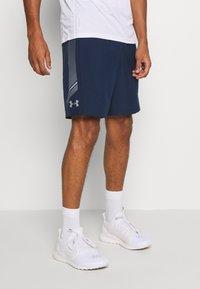 Under Armour - GRAPHIC SHORTS - Pantalón corto de deporte - academy - 0