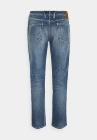 Replay - ANBASS AGED  - Straight leg jeans - medium blue - 1