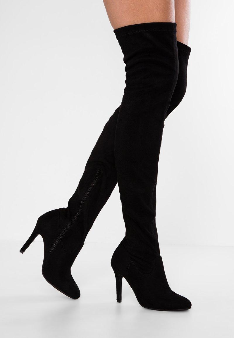 Anna Field - Boots med høye hæler - black