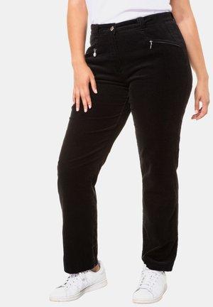 MONY - Trousers - schwarz