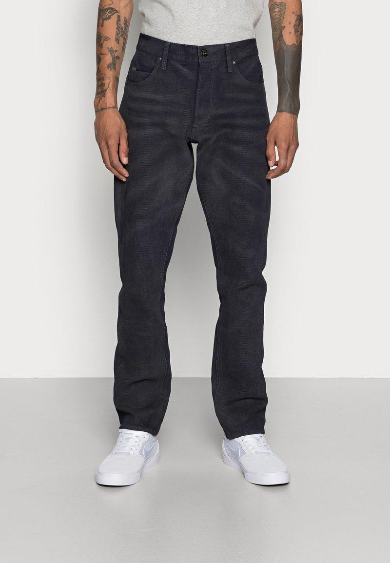 G-Star - TRIPLE STRAIGHT - Jeans Straight Leg - indigo cavalry denim/vintage dark cobler