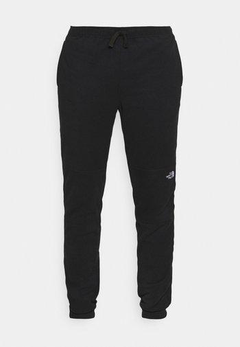 GLACIER PANT - Teplákové kalhoty - black