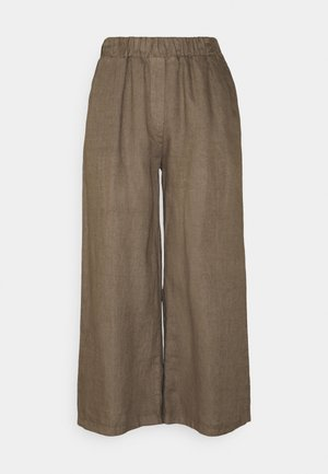 INES PANT - Trousers - sepia