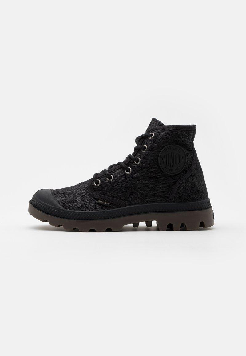 Palladium - PALLABROUSE WAX UNISEX - Lace-up ankle boots - black