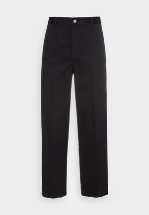 ROSS WIDE TROUSERS - Chinos tipa bikses - black