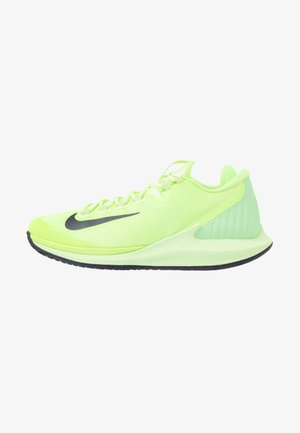 COURT AIR ZOOM - Multicourt tennis shoes - ghost green/blackened blue/barely volt