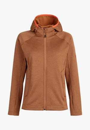 NAIR  - Fleece jacket - tumeric melange